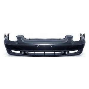 Hyundai Sonata Primed Black Replacement Front Bumper Cover Automotive