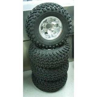4x 22 Golf Cart Tires w/ 10 Aluminum Wheels Club Car