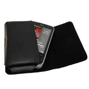 Pouch Case with Belt Loop for Samsung M8800 Pixon   Black Electronics