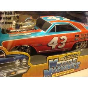 Nascar Muscle machines {ACTION} #43 68 Dodge Hemi Dart