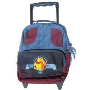 Disney Winnie the Pooh & Tigger Small Rolling Backpack Toys & Games