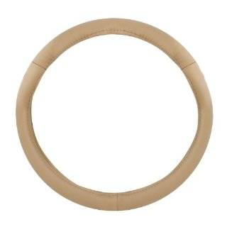 Pilot Automotive SW 68T Racing Style Tan and Black Steering Wheel