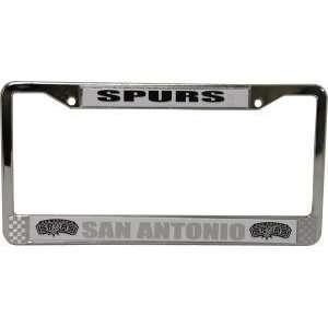 San Antonio Spurs Chrome Auto Frame
