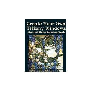 Dover Stained Glass Coloring Bk Tiffany Windo Arts