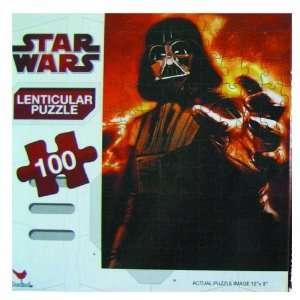 Lenticular Star Wars Puzzle   100pc Darth Vader Puzzle Toys & Games