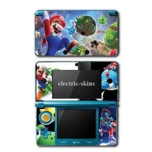 Nintendo 3DS Skins   Super Mario Bros Galaxy Game #2 Skin