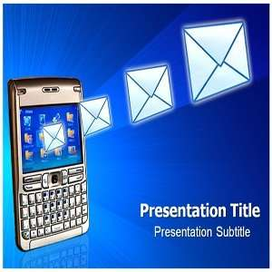 Message PowerPoint Template   Message PowerPoint (PPT) Backgrounds