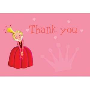 Dolce Mia Princess Birthday Thank You Card Party Pack   8 cards: Baby