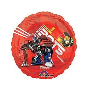 Red Transformers Autobots 9 Air Filled Cup & Stick
