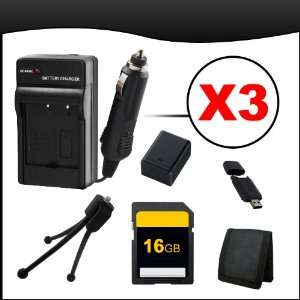 Power Accessory Bundle Pack #2 for Olympus OM D E M5