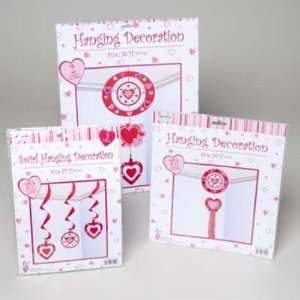 Valentines Day Hanging Decor Case Pack 72