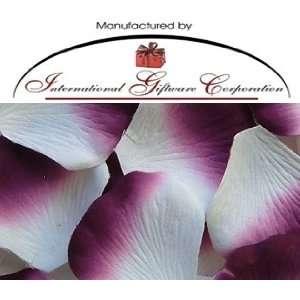 100 Silk Rose Petals Wedding Favors   Two Tone Color