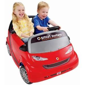 Power Wheels Smartcar fortwo Coupe  Toys & Games