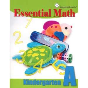 Essential Math A Kindergarten Student Workbook Books
