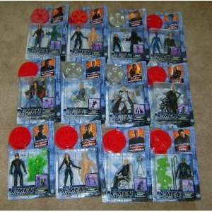 X Men Movie Action Figures Toy Biz 2000 Mint In Box 12
