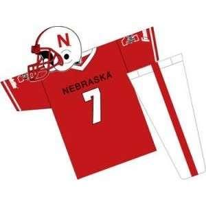 Nebraska Cornhuskers Youth NCAA Team Helmet and Uniform