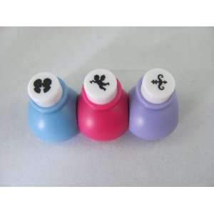 Scrapbooking Craft Paper Punch Set 3 Items Love   Kissing