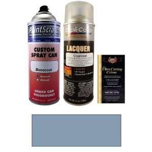 Oz. Satin Blue Metallic Spray Can Paint Kit for 1980 Nissan 720 (815