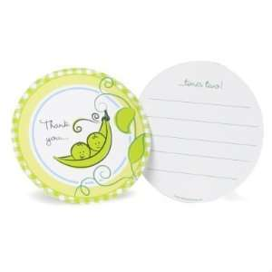 Two Peas in a Pod Thank You Notes Toys & Games