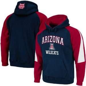 NCAA Arizona Wildcats Navy Blue Cardinal Playmaker Pullover Hoodie