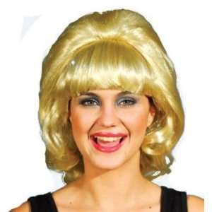 Stepford Wives Blonde Fancy Dress Wig Inc FREE Wig Cap  Toys & Games