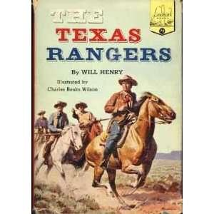 THE TEXAS RANGERS   Landmark Book #72 Will Henry, Charles
