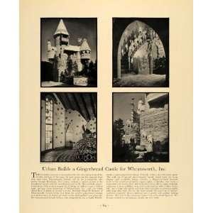 Gingerbread Castle Hansel & Gretel   Original Print Ad