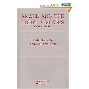 Amahl and the Night Visitors Chorus Parts (9780793553594