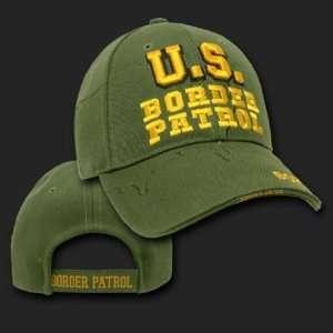 BORDER PATROL SHADOW DESIGN HAT CAP LAW ENFORCEMENT CAPS