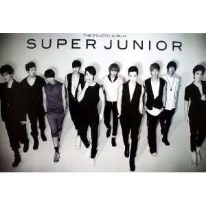 Super Junior K Pop Korean Boy Band Pop Dance Wall Decoration Poster