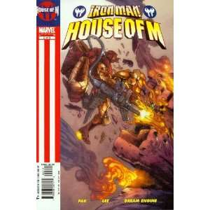 Iron Man House of M #2 Independence Day Books
