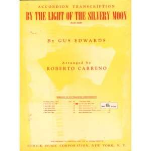By the Light of the Silvery Moon (Bass Clef) Accordion