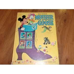 Walt Disneys Mother Goose; Authorized Edition: Big Golden