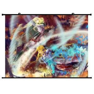 Fate Zero Fate Stay Night Extra Anime Wall Scroll Poster Saber Flora