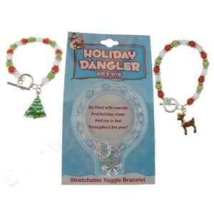 Christmas Childrens Charm Bracelet Case Pack 3