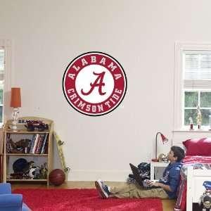Alabama Crimson Tide Circle Logo   FatHead Life Size Graphic