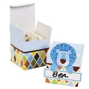 Safari Boy Favor Boxes   Party Favor & Goody Bags & Paper