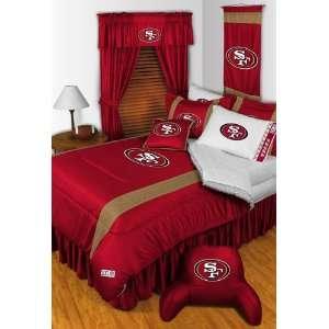 San Francisco 49ers Sidelines Comforter & Sheet Complete