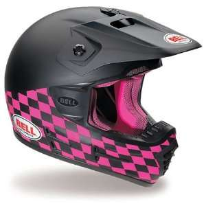 Bell Moto 7R Motocross Rude Boy Pink and Black Helmet   Size  Extra