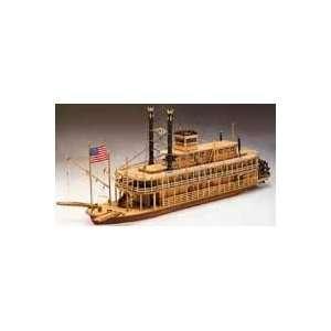 River Queen Wooden Model Kit Toys & Games