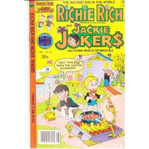 Rich and Jackie Jokers No 28 Comic Book (The Poor Little Rich Boy, 1