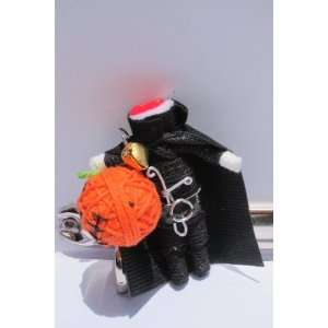Headless Horseman Halloween Lucky Voodoo String Doll Keychain