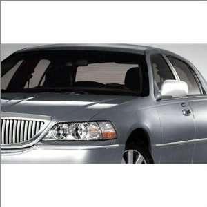 com SES Trims Chrome Mirror Covers 03 10 Lincoln Town Car Automotive