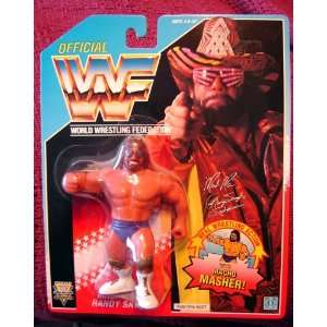 WWF Macho Man Randy Savage Wrestling Action Figure WWE WCW