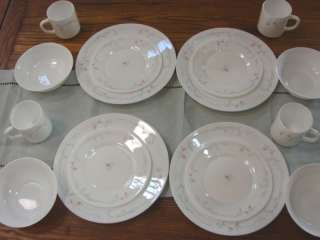 16 Piece Arcopal France Odessa Dinnerware   Serve 4