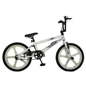 Redemption Mag Wheel Boys BMX Bike   White/White, 20 inch .co