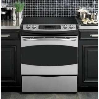 ge profile pcs968srss stainless steel slide in electric range 2015 home design ideas. Black Bedroom Furniture Sets. Home Design Ideas