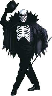 Scary Skeleton Halloween Costume 3915   Ace Fancy Dress