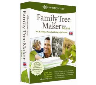 AVANQUEST Family Tree Maker 2012 Deluxe Edition at cheap prices