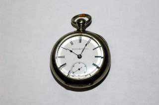 Elgin national watch pocket watch vintage